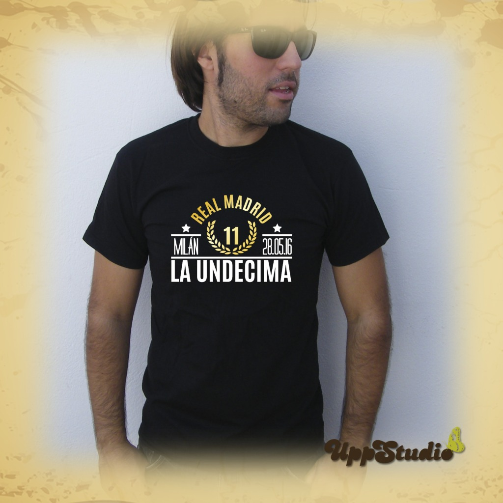 Real Madrid La Undécima Champions League T-Shirt Tee Milano | UppStudio