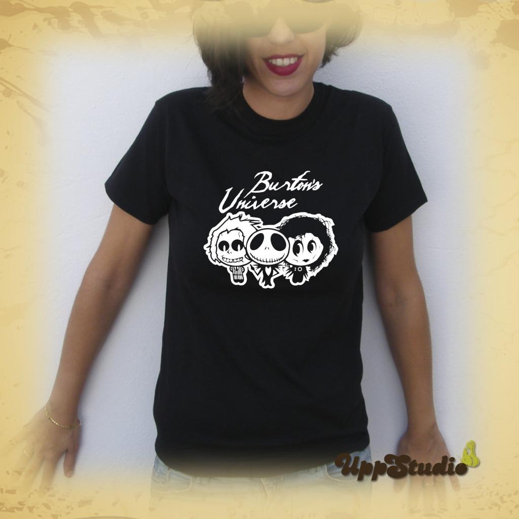Tim Burton's Universe Home For Imaginary Friends Jack Skellington Edward Scissorhands Beetlejuice T-Shirt Tee | UppStudio