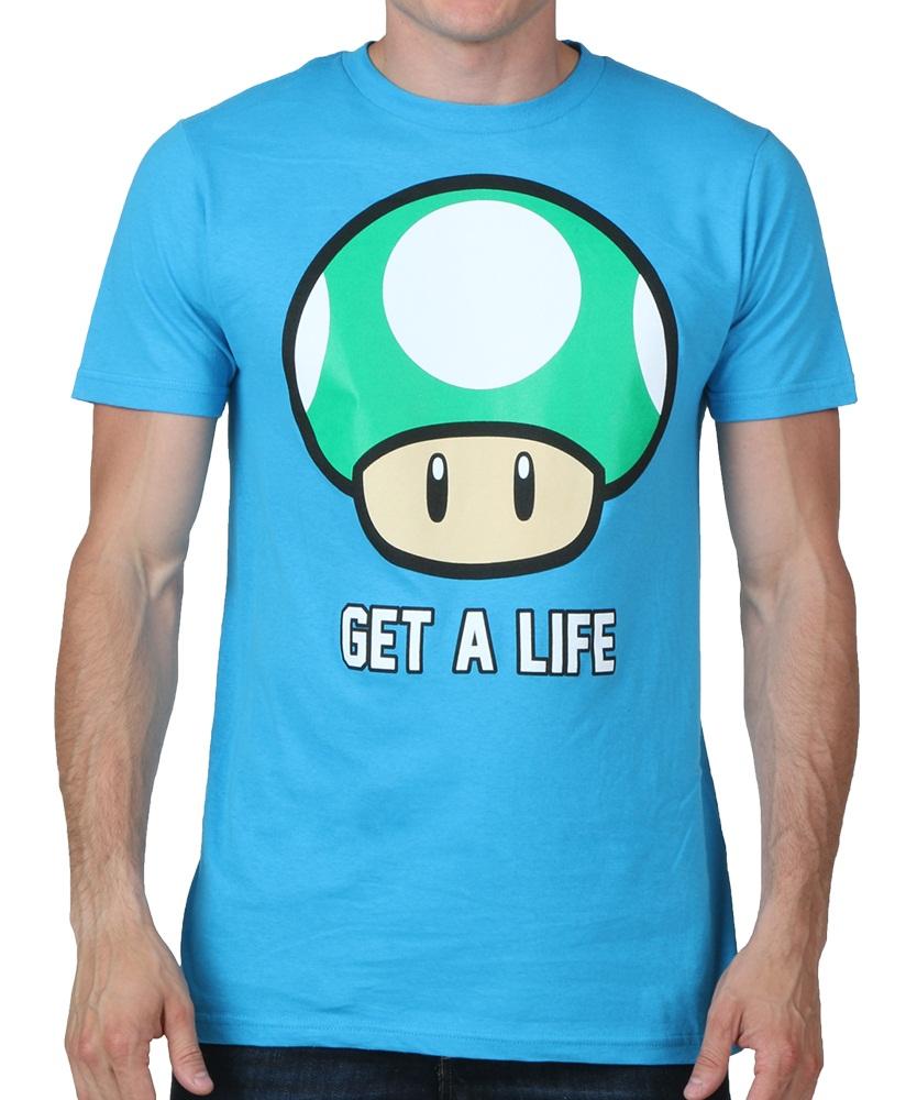 Get A Life T-Shirt | Nintendo