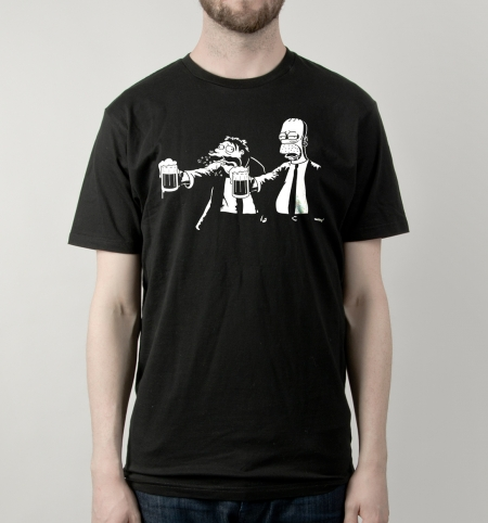 Pulp Simpson T-Shirt | Busted Tees