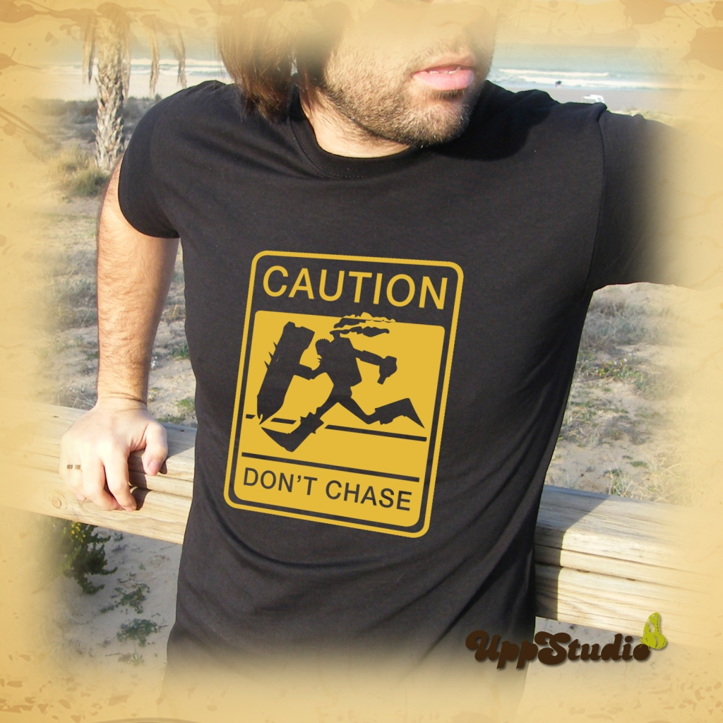 League Of Legends Caution Don't Chase LOL T-Shirt Tee | UppStudio