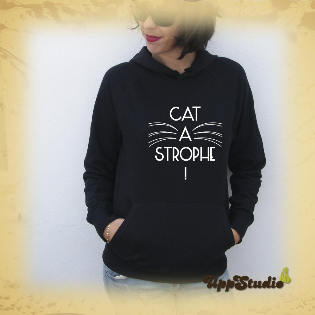 Cat a Strophe Hoodie Cats | UppStudio
