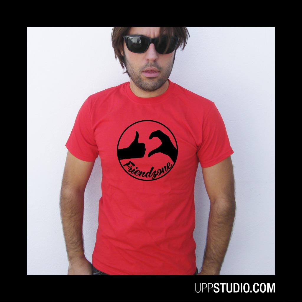 Friendzone Logo T-Shirt Tee | UppStudio