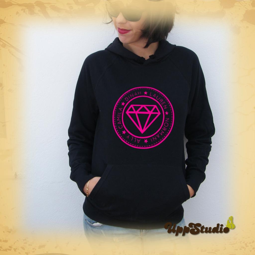 Fifth Harmony Hoodie Sweatshirt Felpa | UppStudio
