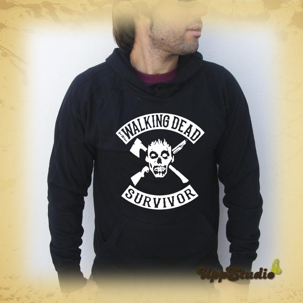 The Walking Dead Survivor Hoodie Sweatshirt Felpa | UppStudio