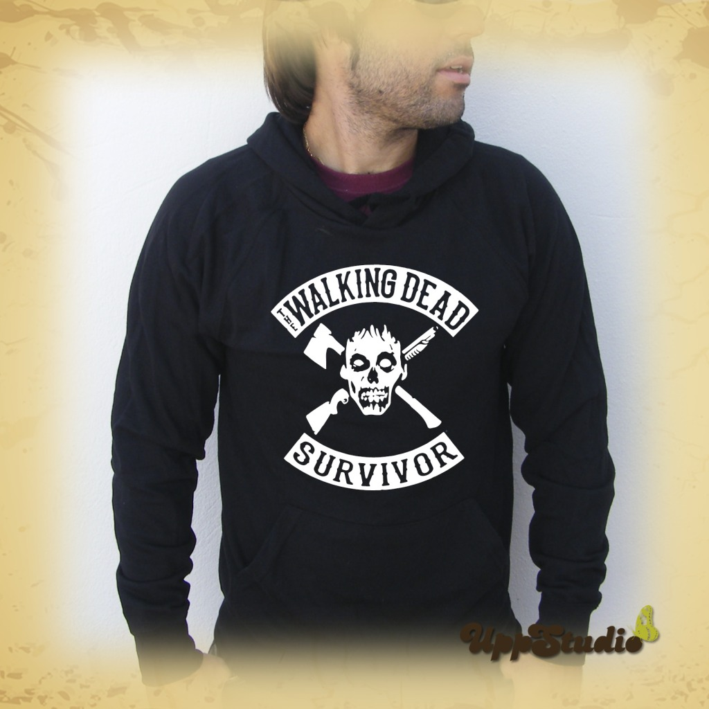 The Walking Dead Survivor Hoodie Sweatshirt Felpa | UppStudio