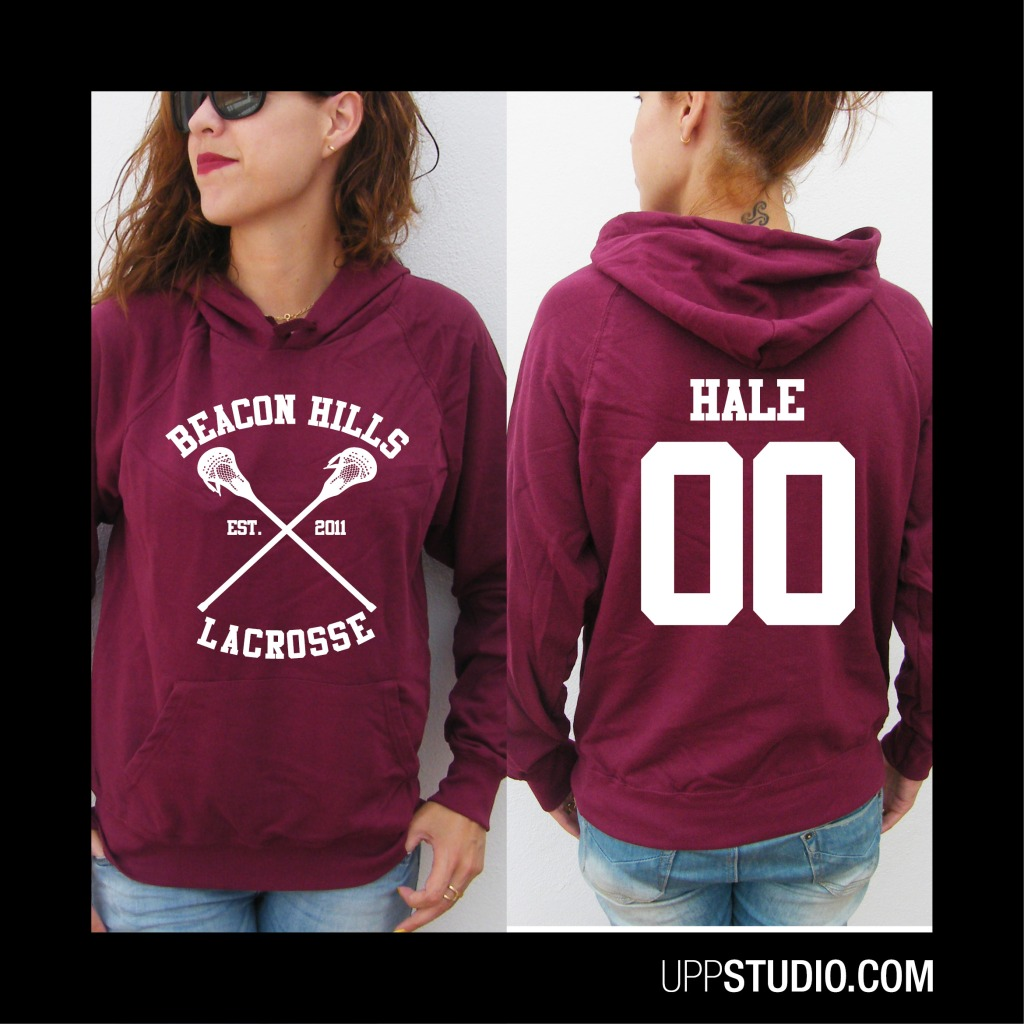 Derek Hale 00 Teen Wolf Hoodie Sweatshirt Felpa | Beacon Hills | UppStudio