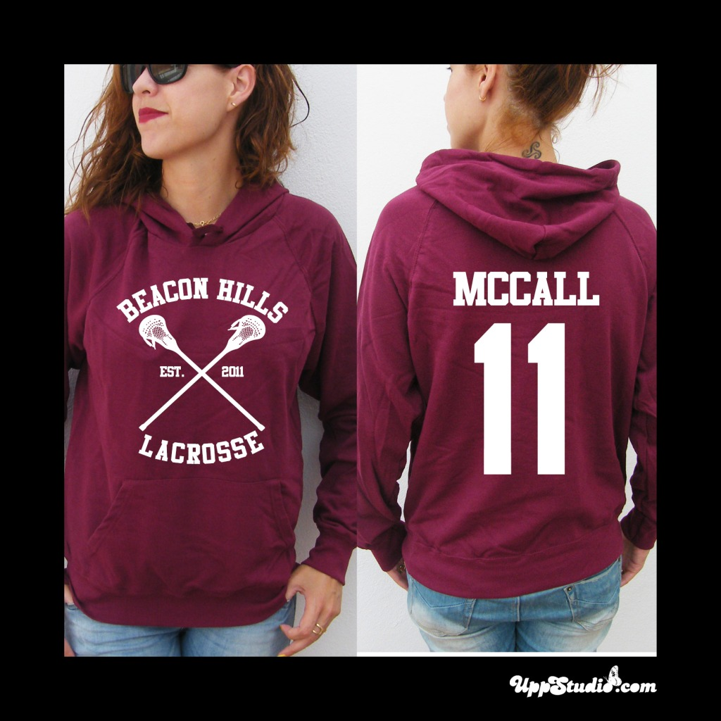 McCall 11 Teen Wolf Hoodie Sweatshirt Felpa | UppStudio