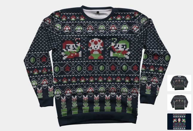 Super Christmas Bros Sweatshirt