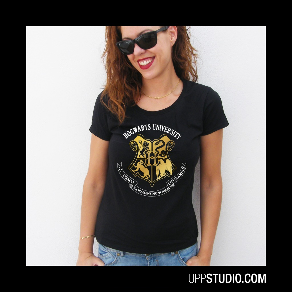 Hogwarts University Harry Potter T-Shirt Tee | UppStudio