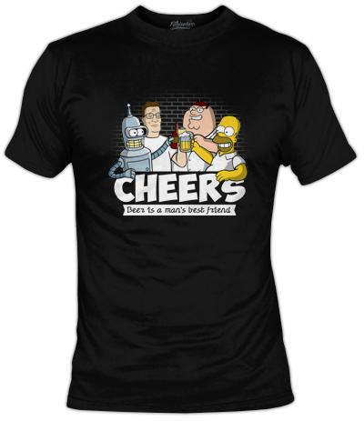Cheers T-Shirt | Fanisetas