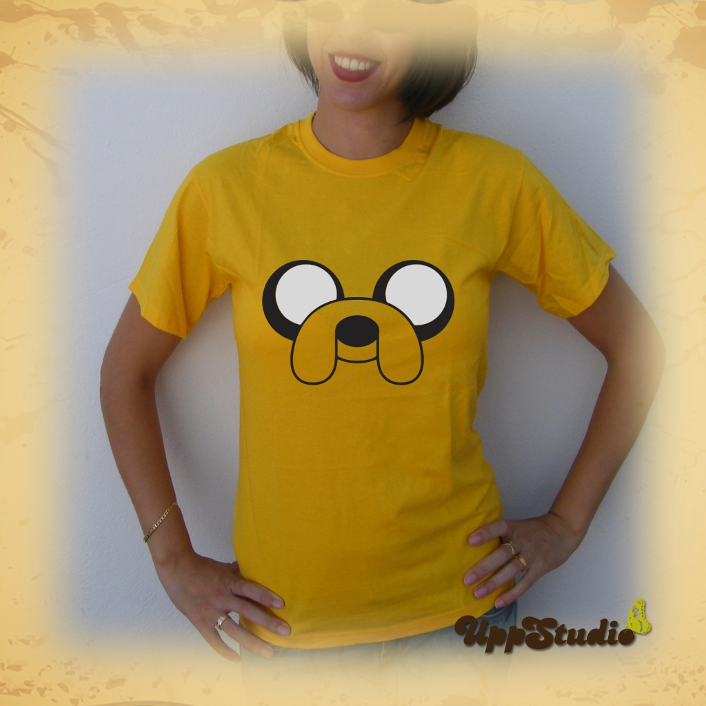 Jake The Dog T-Shirt | Adventure Time | UppStudio