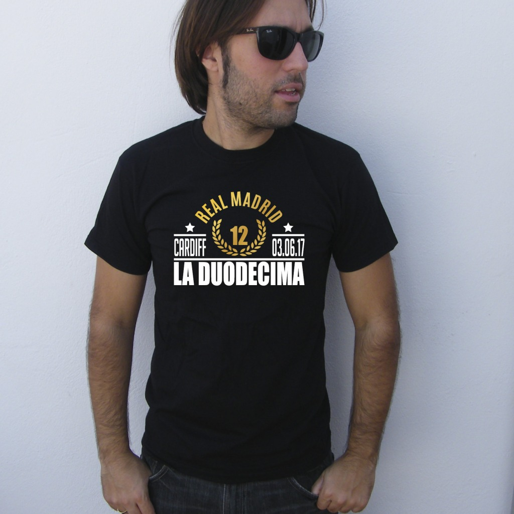 Real Madrid Champions League Conmemorative T-Shirt | La Duodécima | UppStudio